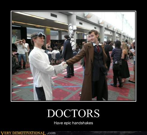 doctor who dr horrible epic handshake Pure Awesome - 5242638848