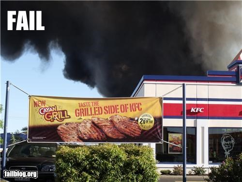 failboat,fast food,fire,g rated,irony,kfc