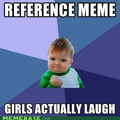 girls,laugh,lelah,meta,reference,success kid