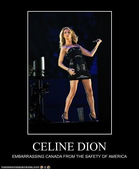celeb celine dion demotivational funny Music - 5243414528