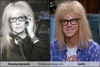 blond hair blonde dana carvey garth glasses long hair Movie penelope spheeris waynes world