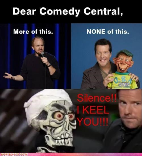 comedian funny jeff dunham louis ck - 5243518208