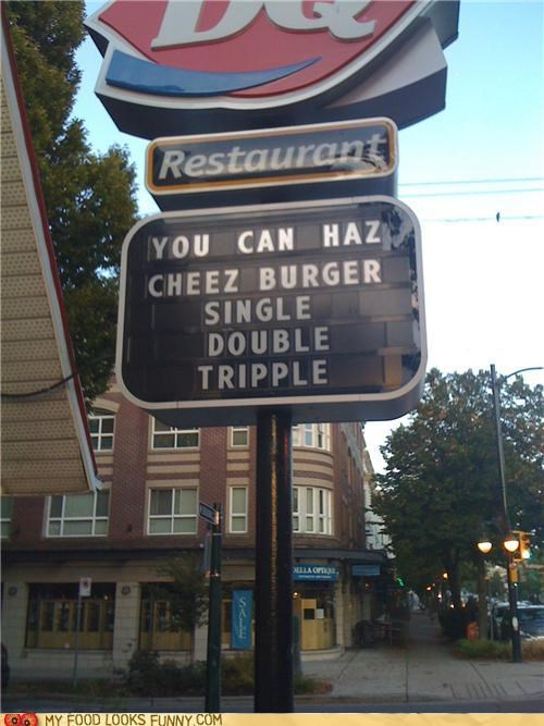 burger king,cheezburger,fast food,funny food photos