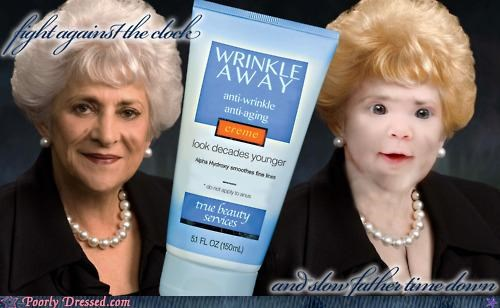 Ad anti-aging product wrinkle cream wrinkles