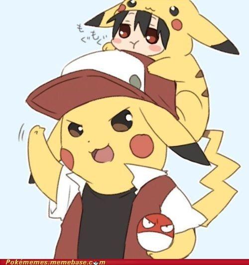 art ashred pikachu trainer voltorb - 5243984896