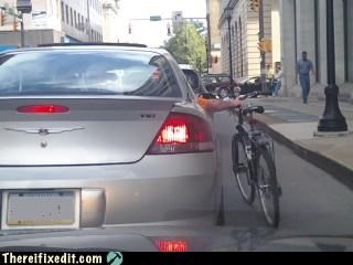 bicycle cars dangerous driving stupidity - 5244012800
