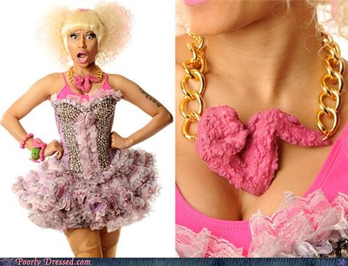 chicken,chicken wing,necklace,nicki minaj