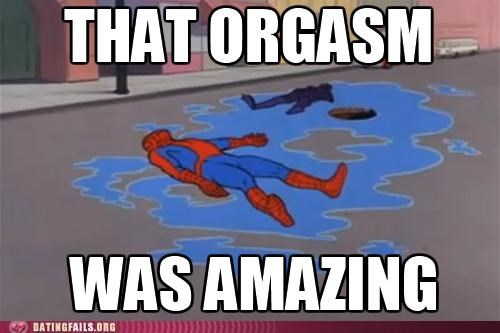 orgasm Spider-Man We Are Dating - 5244308992