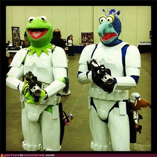 best of week,gonzo,in spaaace,kermit,muppets,stormtrooper,wtf