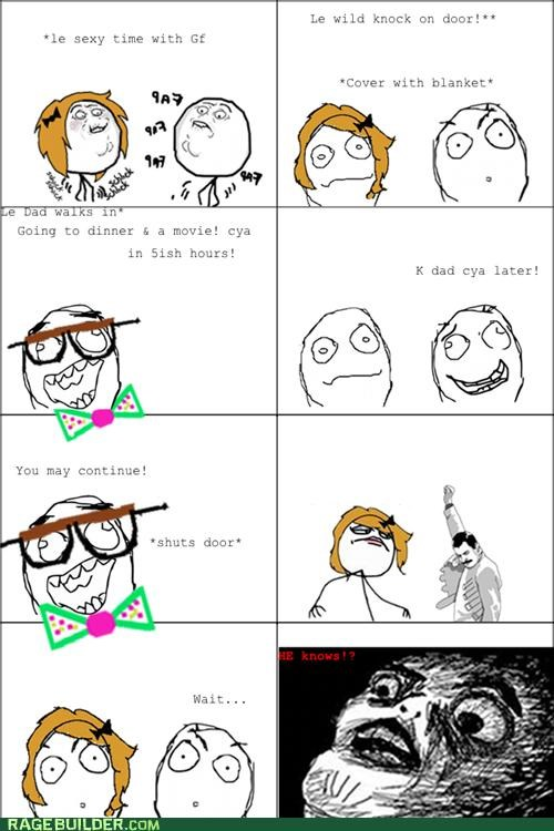 awesome dad Rage Comics sexytimes - 5244441344