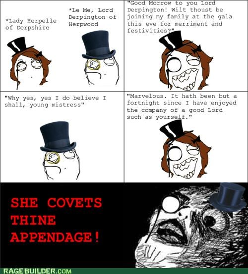 fancy sir Rage Comics she wants my - 5244472320