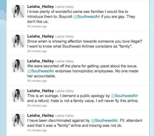 Leisha Hailey southwest airlines the l word Unfriendly Skies - 5244487168