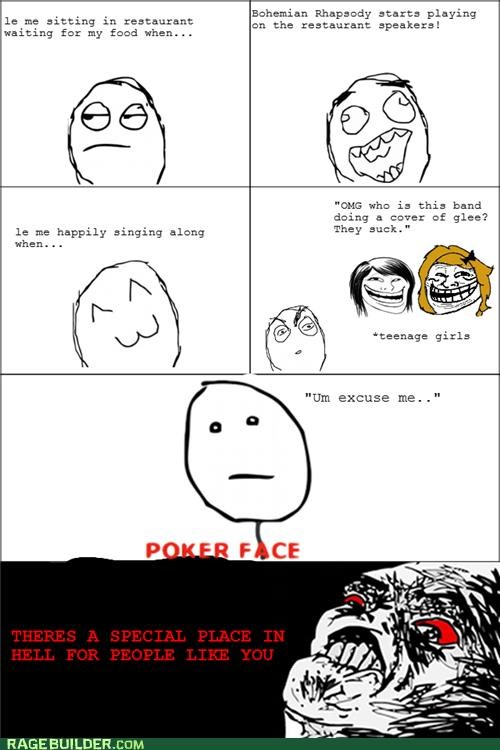 glee queen Rage Comics special place in hell - 5244498944