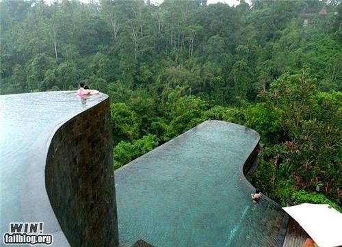 architecture design Forest hotel peaceful pool swim water