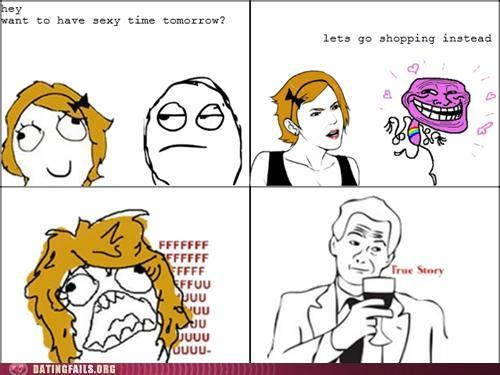 comic gay homosexual rage comic shopping troll We Are Dating - 5244967424