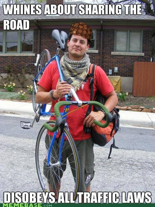 biker cars Memes portland road traffic - 5245049856
