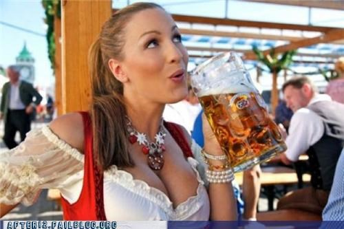 beer bewbs Germany ladies oh right oktoberfest woo girls