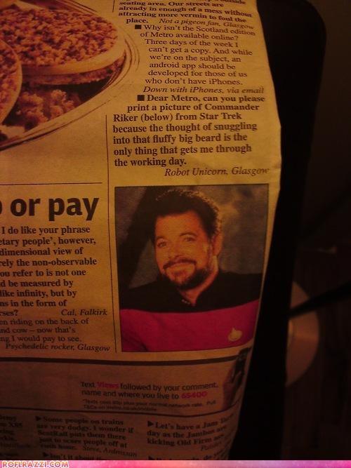 celeb funny Hall of Fame Jonathan Frakes sci fi Star Trek - 5245103104