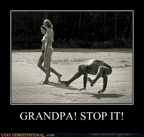 crab walk Grandpa hilarious wtf - 5245279488