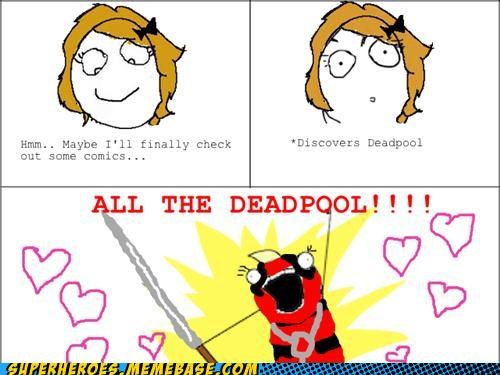 all the things deadpool Rage Comics Super-Lols - 5245618944