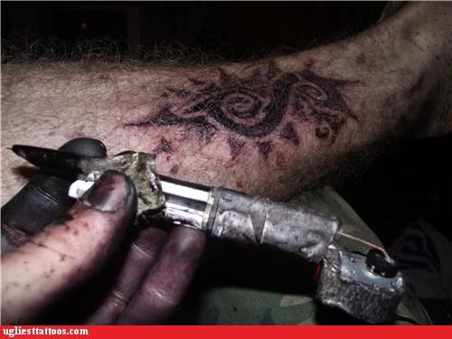 dont-try-this-at-home homemade tattoo gun