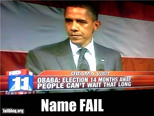 Chyron,failboat,g rated,obama,Probably bad News,spelling,typo