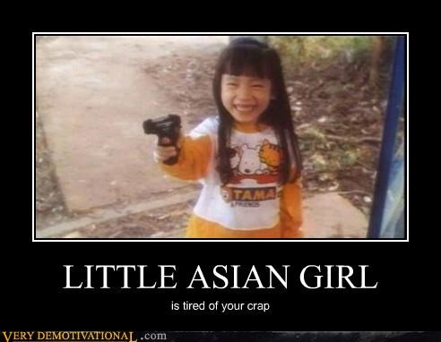 asian girl gun Terrifying - 5246487040