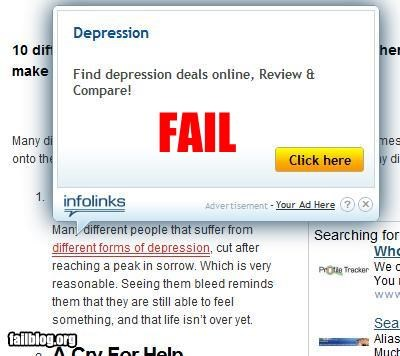 Ad depression failboat for sale google g rated internet - 5246861568