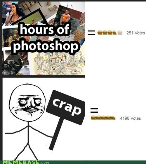crap happens me gusta memebase photoshop story of my life votes - 5247012096