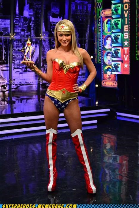 costume dye hair Sexy Ladies Super Costume wonder woman - 5247377408
