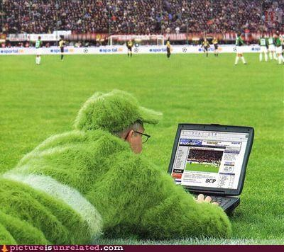 camouflage costume grass soccer wtf - 5247387904