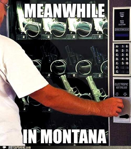 guns Montana vending machines weapons wtf - 5247415552