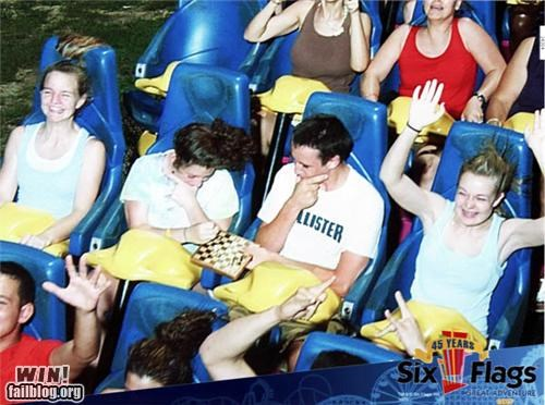 amusement park chess game Photo roller coaster whee