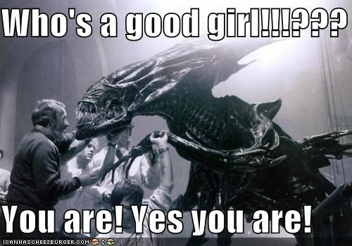 Aliens,funny,Movie,xenomorph