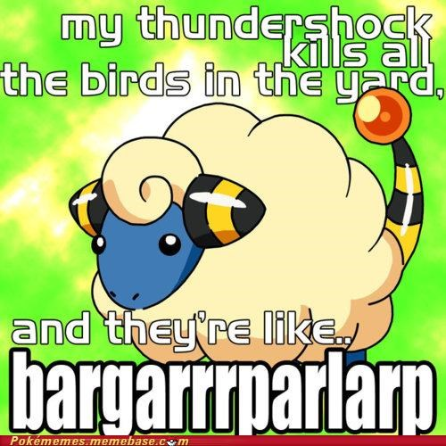 androids bargarr best of week book electric sheep mareep Memes THUNDERSHOCK