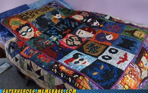 batman,craft,quilt,Random Heroics