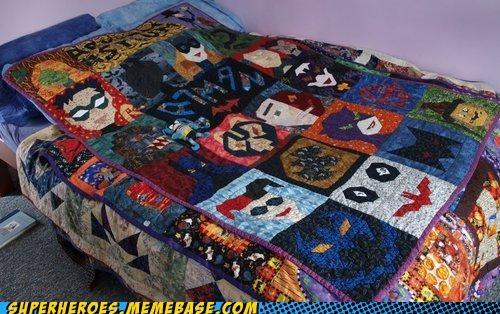 batman craft quilt Random Heroics - 5247728896