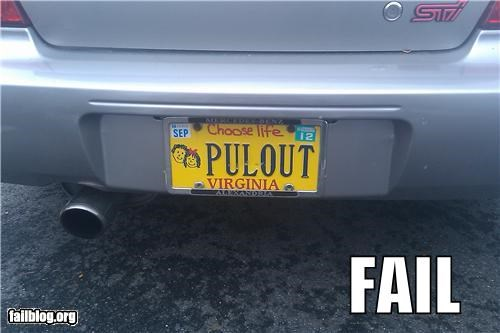 failboat,innuendo,license plate,not for kids,pregnancy,religion,sexual