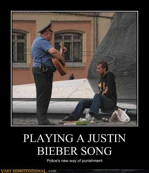 horrible,justin bieber,Music,police,Terrifying