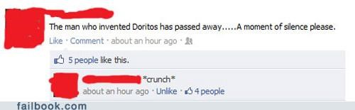 doritos,In Memoriam,moment of silence,witty reply