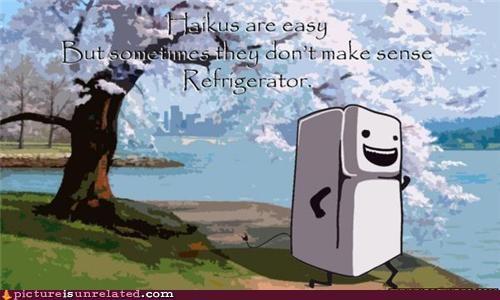 best of week haiku refrigerator wtf