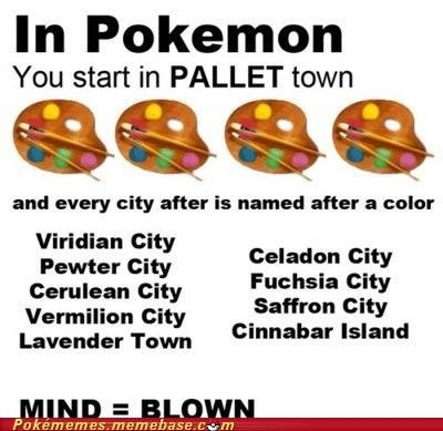 anime city colors games Memes mind blown pallet town - 5248114688