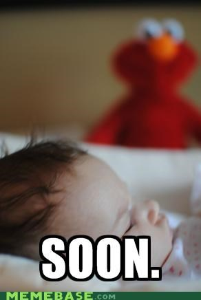 Babies,elmo,SOON,tickles,toys