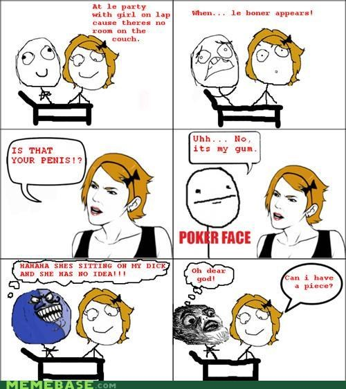 best of week boner alert gum hard i lied lap Rage Comics - 5248246016