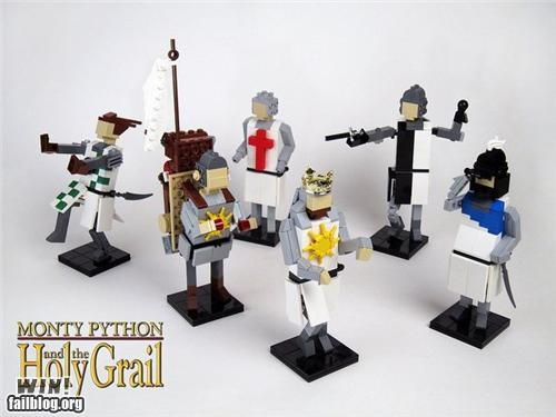 lego model monty python Movie nerdgasm nerdy pop culture toy - 5248297984