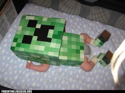 costume minecraft video game