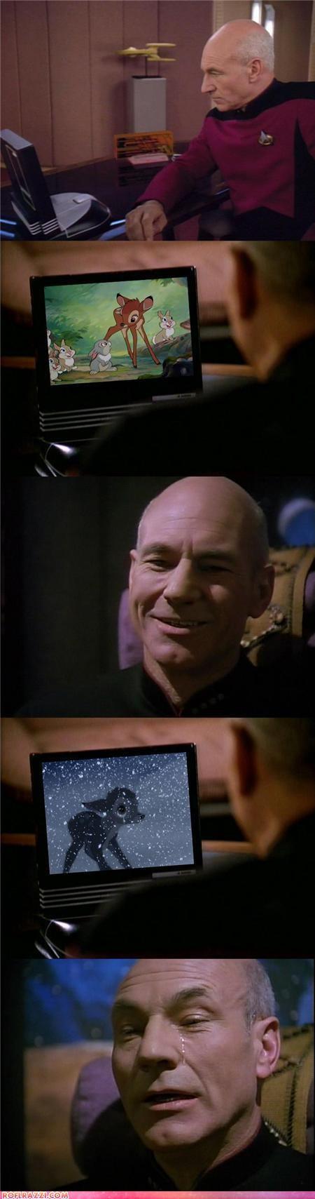 actor celeb comic funny patrick stewart sci fi Star Trek TV - 5248431872