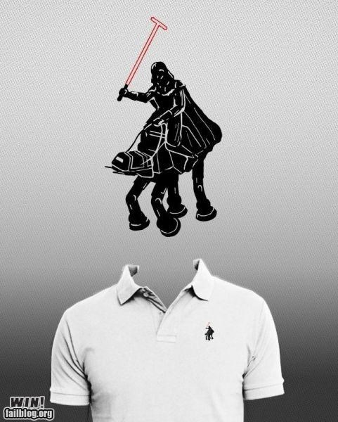 darth vader,fashion,nerdgasm,polo,shirt,star wars
