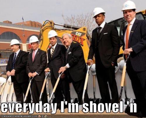 everyday I'm shovel 'n