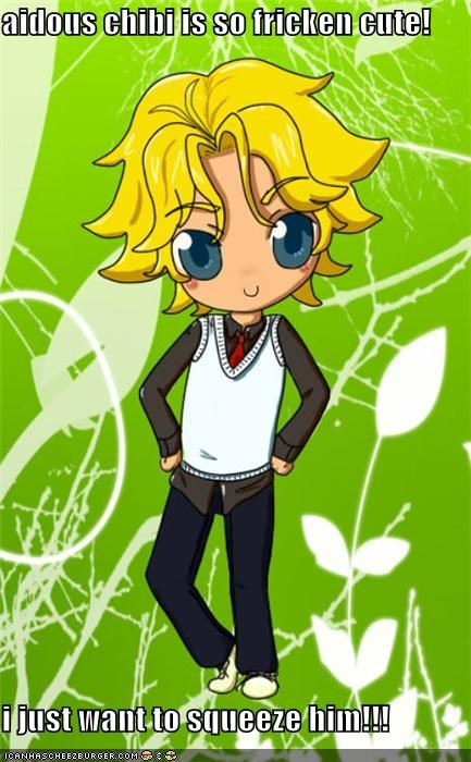 aidous chibi is so fricken cute!  i just want to squeeze him!!!